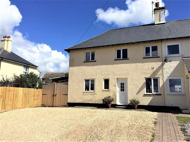 3 Bedrooms Semi Detached House for sale in West View Terrace, Dowell Street, Honiton