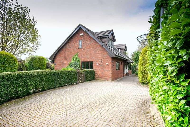 4 Bedrooms Detached House for sale in Hardwicke, Old School Lane, Euxton, PR7 6QJ