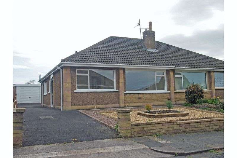 2 Bedrooms Semi Detached Bungalow for sale in Wyndham Place, Bare,Morecambe
