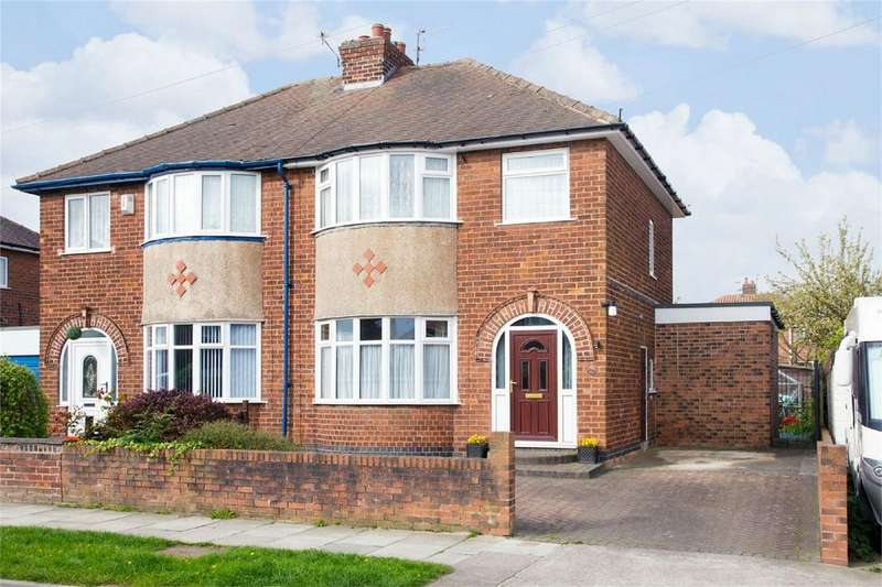 3 Bedrooms Semi Detached House for sale in 41 Tranby Avenue, York