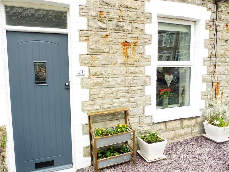 2 Bedrooms Terraced House for sale in Lewis Road, Llandough, Penarth