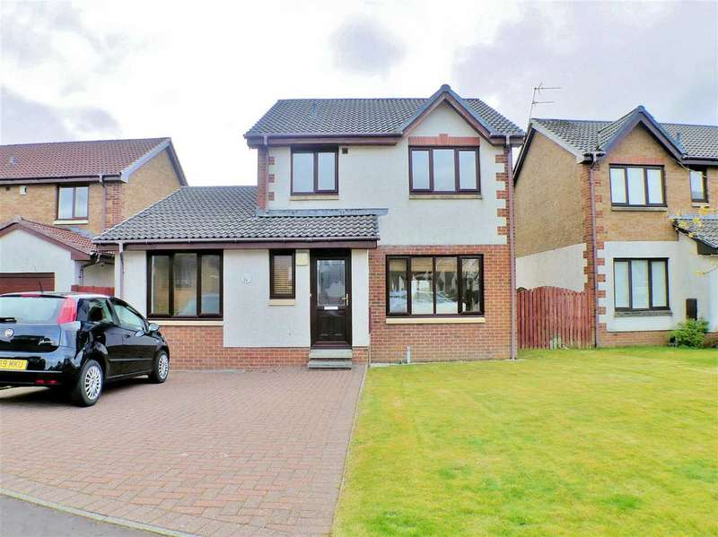 4 Bedrooms Detached House for sale in Cheviot Crescent, Linsdayfield, EAST KILBRIDE