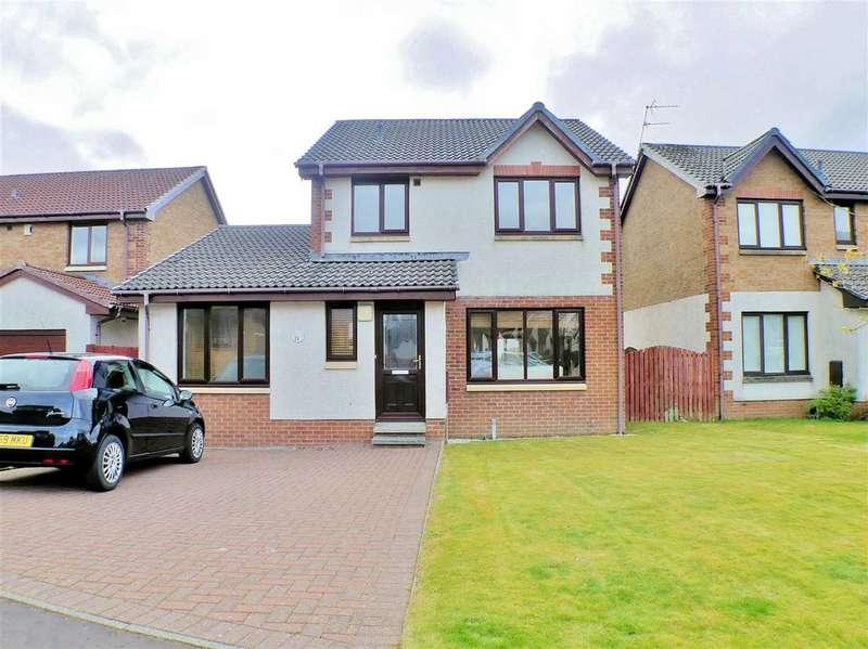 4 Bedrooms Detached House for sale in Cheviot Crescent, Linsdayfield, EAST KILBRIDE