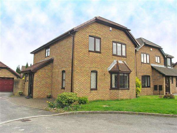 4 Bedrooms Detached House for sale in Baynton Close, Llandaff
