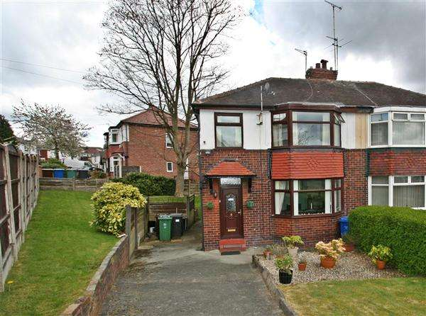 3 Bedrooms Semi Detached House for sale in Mountside Crescent, Prestwich