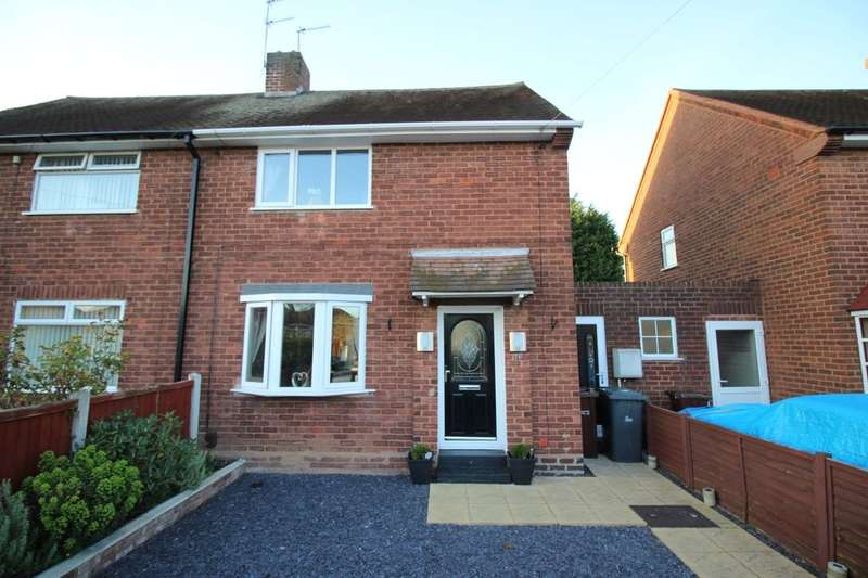 2 Bedrooms Semi Detached House for sale in Olinthus Avenue, Wednesfield, Wolverhampton, WV11