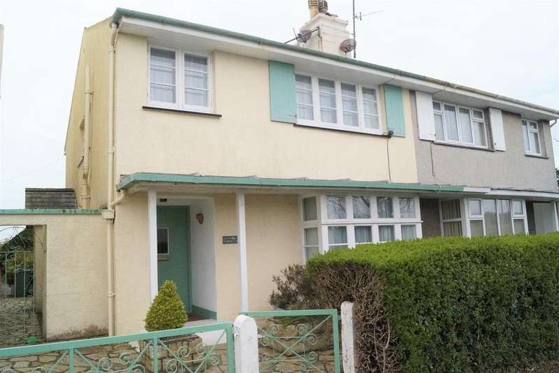 4 Bedrooms Semi Detached House for sale in 15b, Cardiff Road, Pwllheli