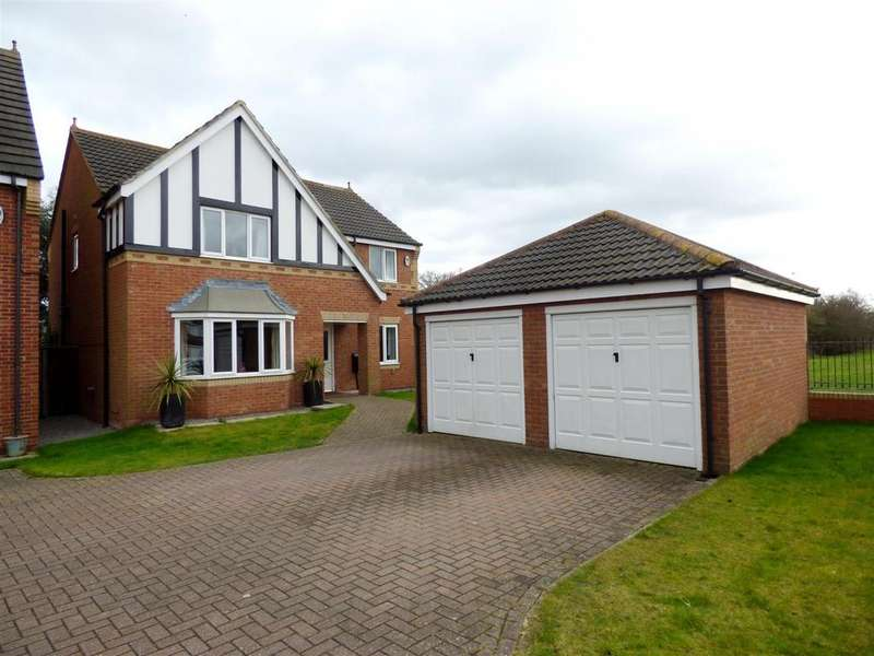 4 Bedrooms Detached House for sale in Alpine Close, Biddick Woods, Houghton Le Spring