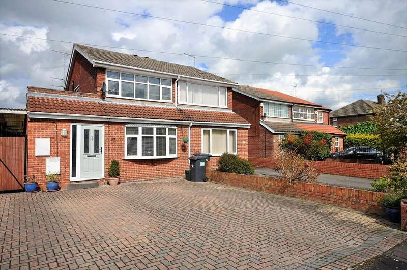 4 Bedrooms Semi Detached House for sale in Menson Drive, Hatfield, Doncaster
