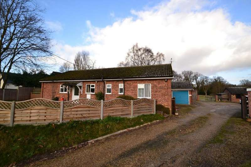 3 Bedrooms Detached Bungalow for sale in Walnut Hill, Surlingham