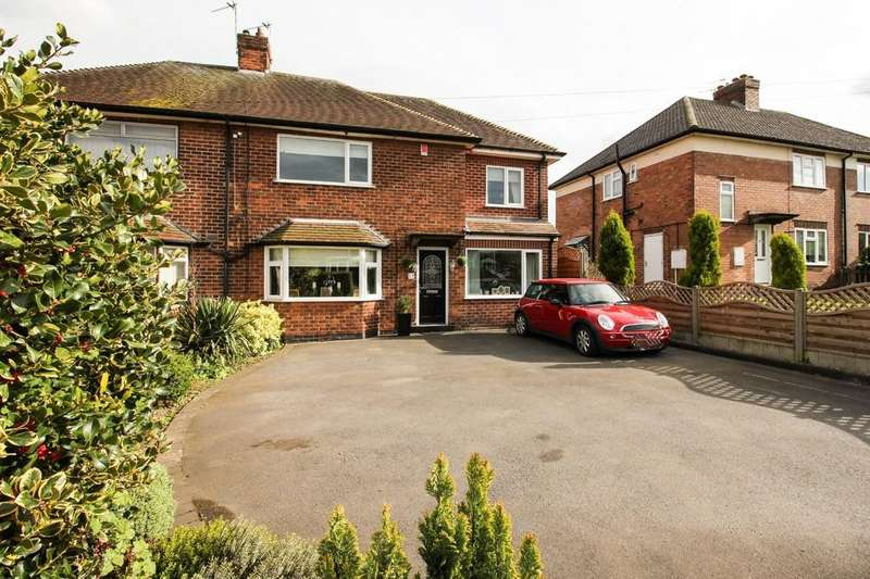 4 Bedrooms Semi Detached House for sale in Woodgate Road, East Leake