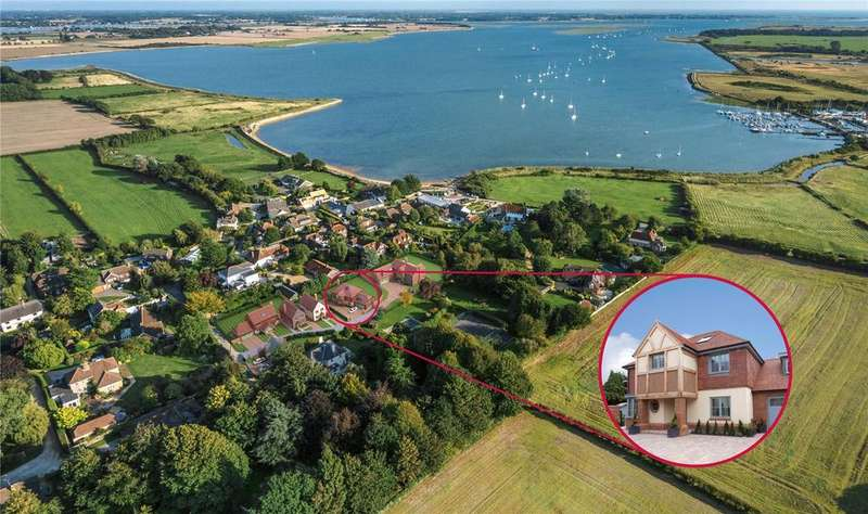 4 Bedrooms Detached House for sale in Salterns Reach, Prinsted, West Sussex