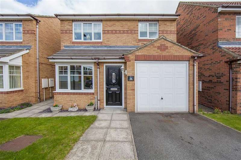 3 Bedrooms Detached House for sale in Housesteads Close, Hadrian Village, Wallsend, NE28