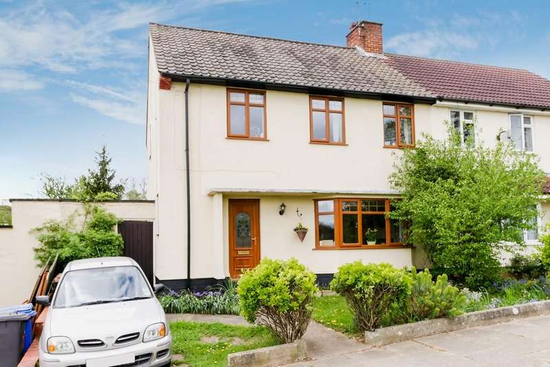 3 Bedrooms Semi Detached House for sale in Glamorgan Road, Ipswich