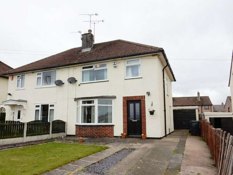 3 Bedrooms Semi Detached House for sale in Edgehill Road, Harraby, Carlisle.