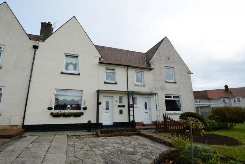 3 Bedrooms Terraced House for sale in 32 The Roundel, Largs, KA30 9EH