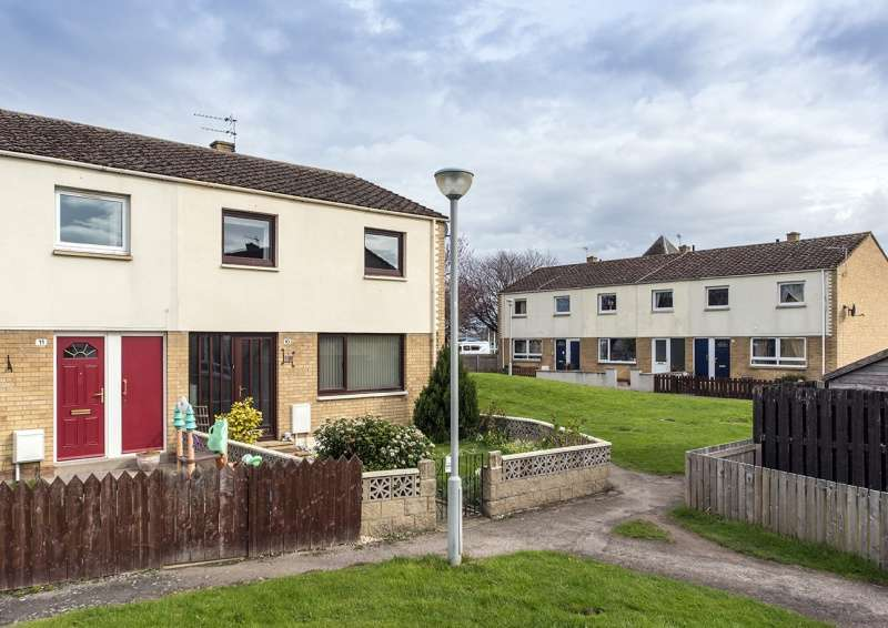 3 Bedrooms End Of Terrace House for sale in Culbin Road, Forres, Moray, IV36 1HZ