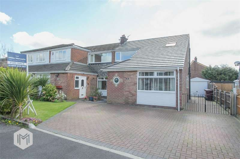 3 Bedrooms Semi Detached House for sale in Duxbury Avenue, Little Lever, Bolton, Lancashire