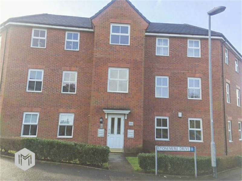 2 Bedrooms Flat for sale in Stonemere Drive, Radcliffe, Manchester, Lancashire
