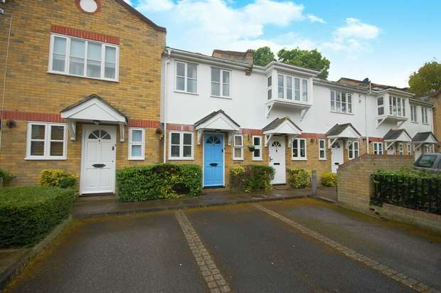 2 Bedrooms Terraced House for sale in Radcliffe Mews, Hampton Hill