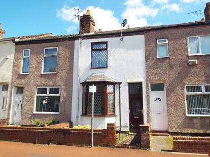 2 Bedrooms Terraced House for sale in Wellfield Street, Warrington, Cheshire