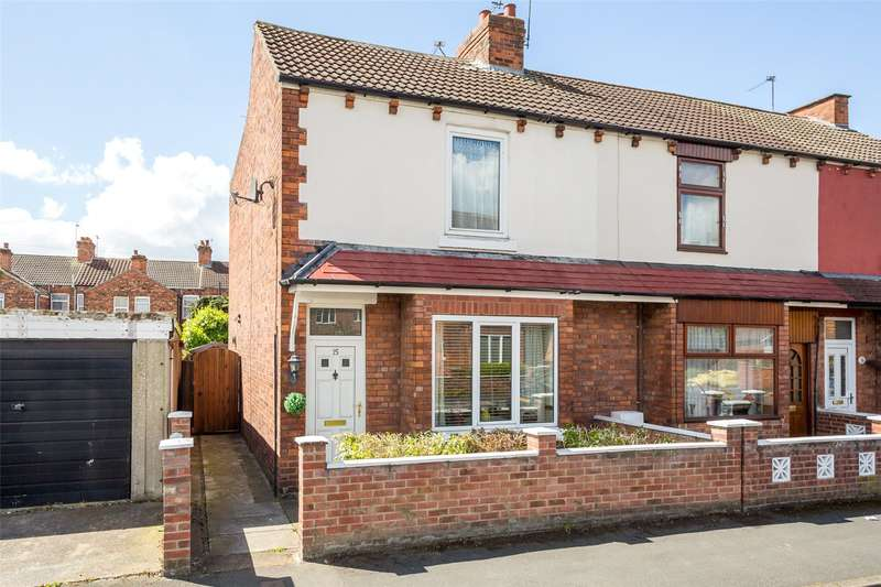 3 Bedrooms End Of Terrace House for sale in White Street, Selby, YO8