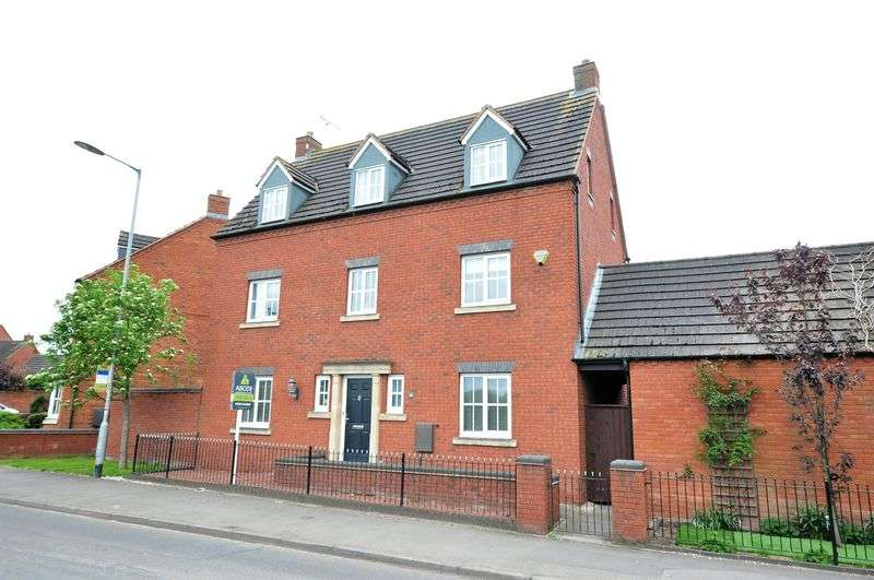 5 Bedrooms Detached House for sale in STATION ROAD, ROLLESTON ON DOVE