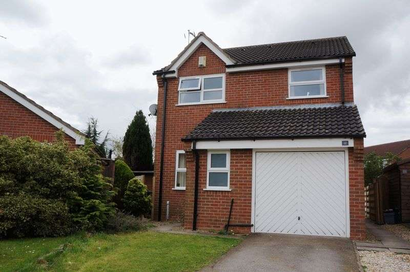 3 Bedrooms Detached House for sale in Coledale Close, Rawcliffe, York