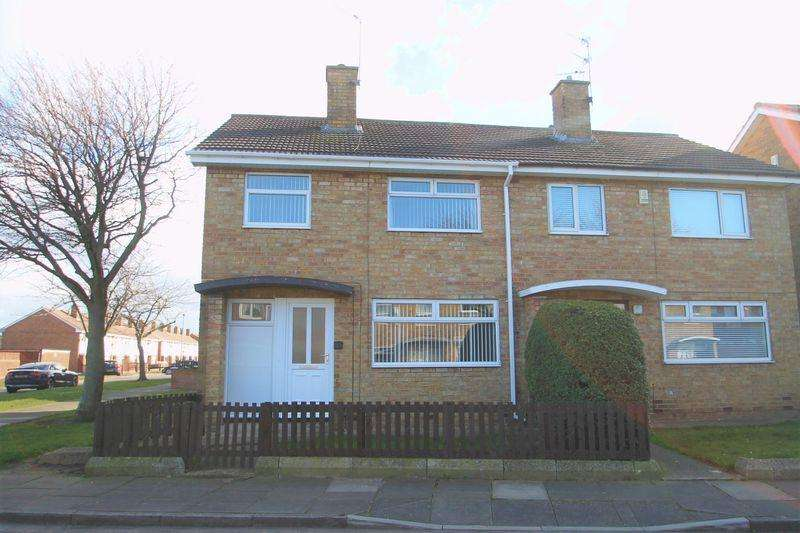 3 Bedrooms Semi Detached House for sale in Endeston Road, Priestfields, Middlesbrough, TS3 0HG
