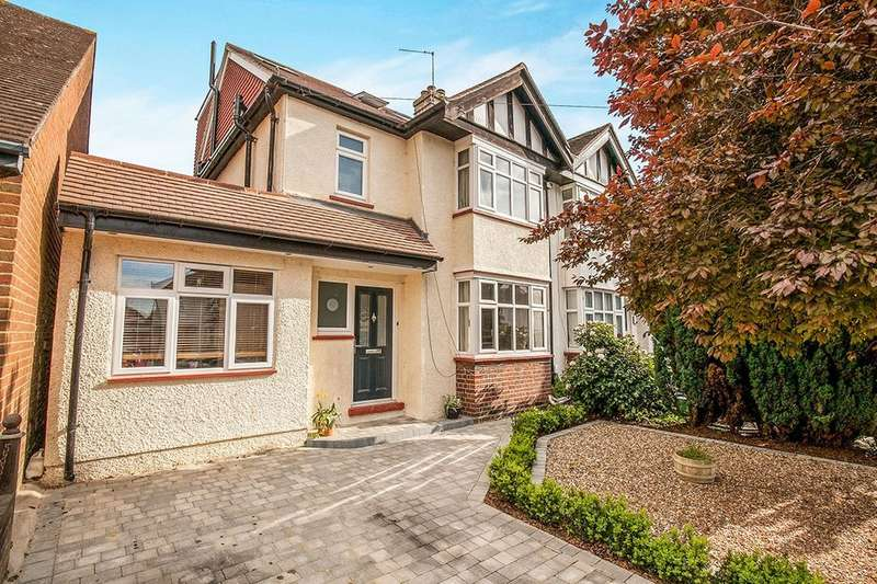 4 Bedrooms Semi Detached House for sale in Norton Avenue, Berrylands, Surbiton, KT5