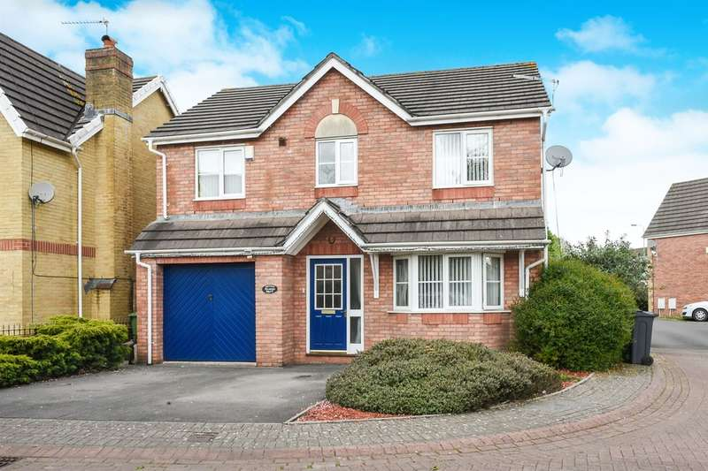 4 Bedrooms Detached House for sale in Palmers Drive, Cardiff