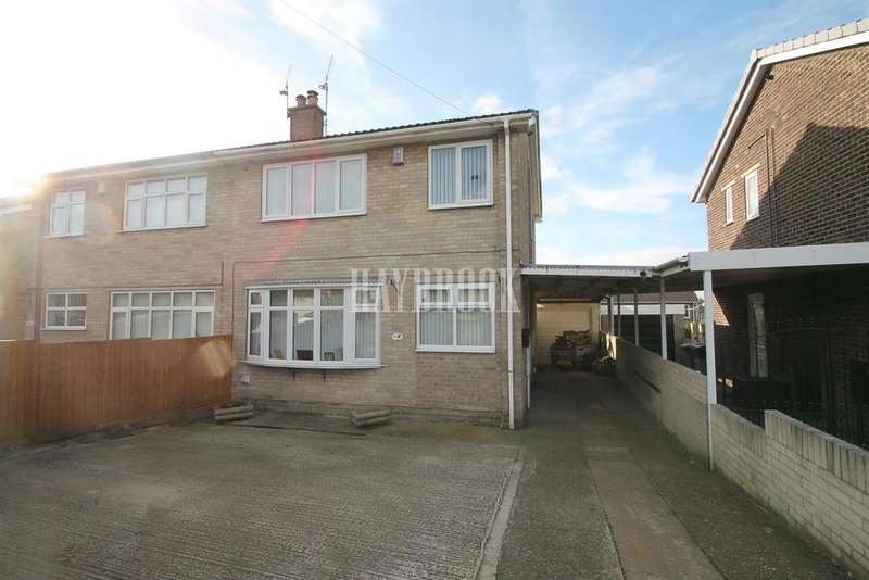3 Bedrooms Semi Detached House for sale in Calder Road, Bolton upon Dearne