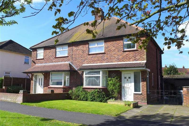3 Bedrooms Semi Detached House for sale in Moreton Road, Crewe