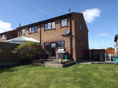 3 Bedrooms Semi Detached House for sale in Bryn Rhyg, Colwyn Bay, Conwy, LL29