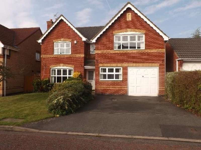 4 Bedrooms Detached House for sale in Churchill Gardens, St Helens WA9