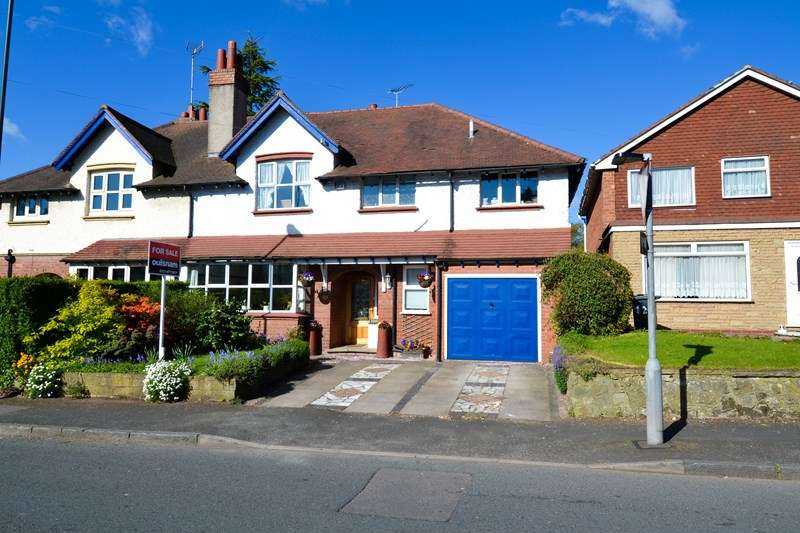 5 Bedrooms Semi Detached House for sale in Woodland Road, Northfield, BIRMINGHAM