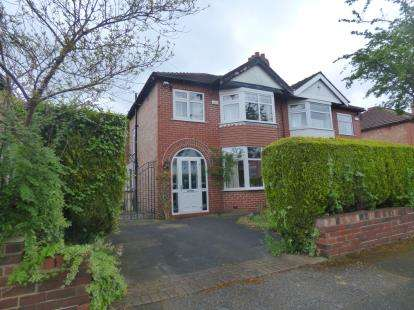 3 Bedrooms Semi Detached House for sale in Rudyard Grove, Sale, Trafford, Greater Manchester