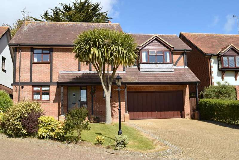 4 Bedrooms Detached House for sale in Nansen Close, Bembridge, Isle of Wight, PO35 5QD