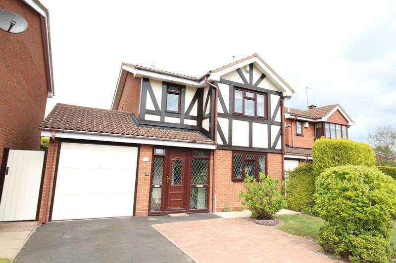 Property for sale in Overfield Drive, Sedgmoor Park. Bilston