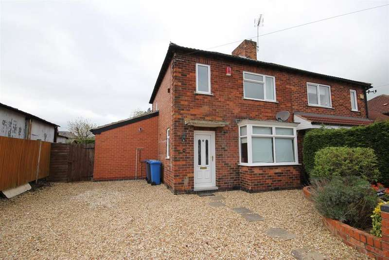 3 Bedrooms Semi Detached House for sale in Lodge Way, Mickleover, Derby