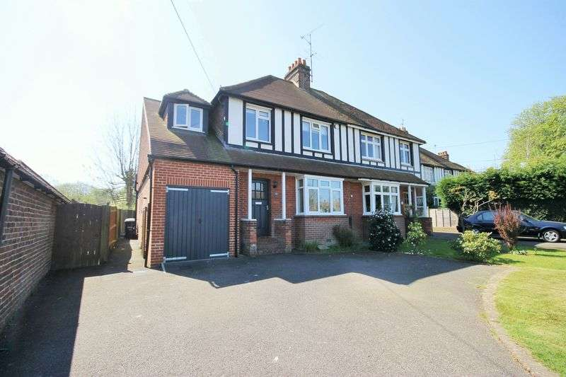 4 Bedrooms Semi Detached House for sale in Inholmes Park Road, Burgess Hill, West Sussex