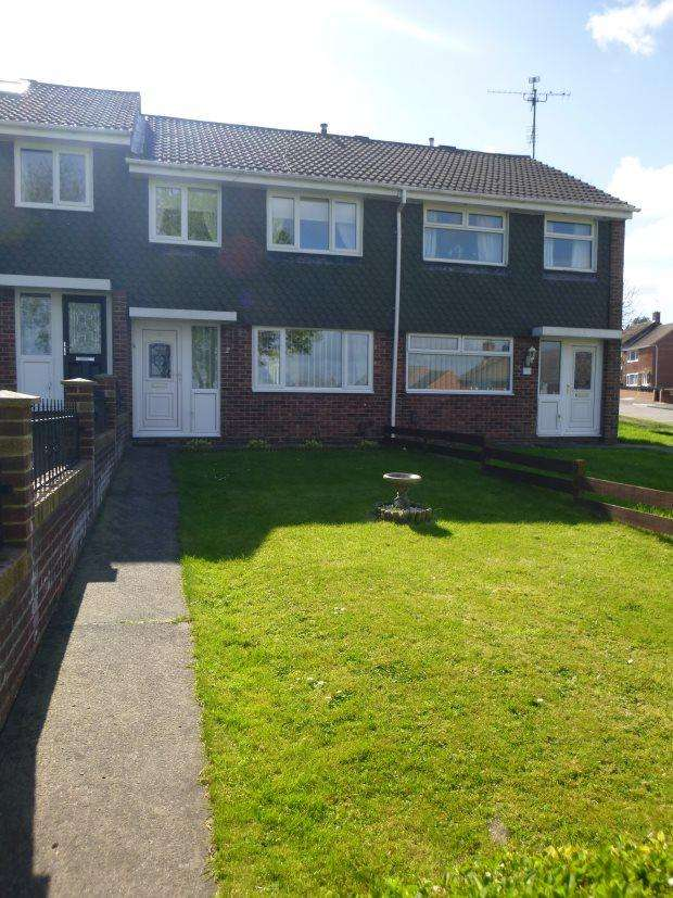 3 Bedrooms Town House for sale in NORTHLAND CLOSE, GRINDON, NORTH FARM ESTATE, SUNDERLAND SOUTH