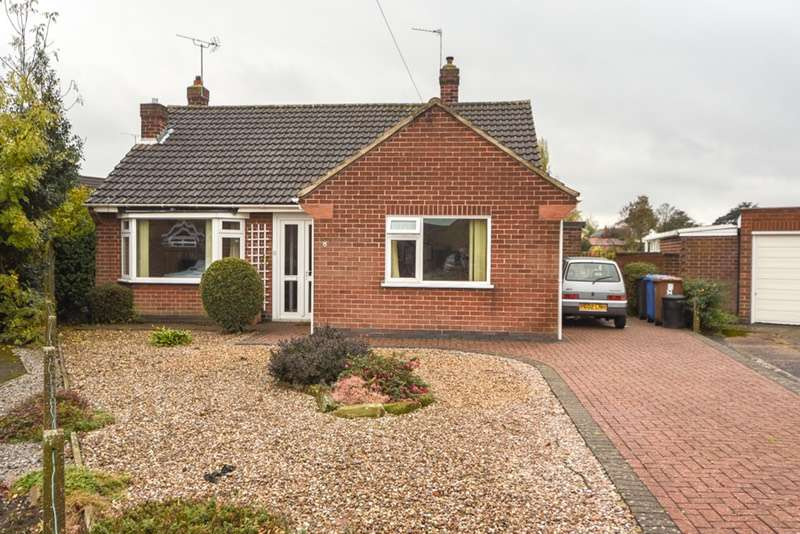 2 Bedrooms Bungalow for sale in YEW TREE CLOSE, DERBY, Derbyshire, DE24