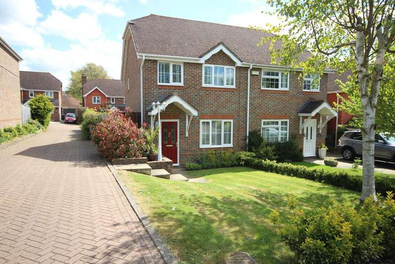 3 Bedrooms Semi Detached House for sale in Bell Farm Gardens, Barming