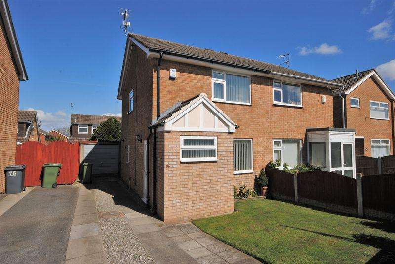 2 Bedrooms Semi Detached House for sale in Millhouse Lane, Moreton