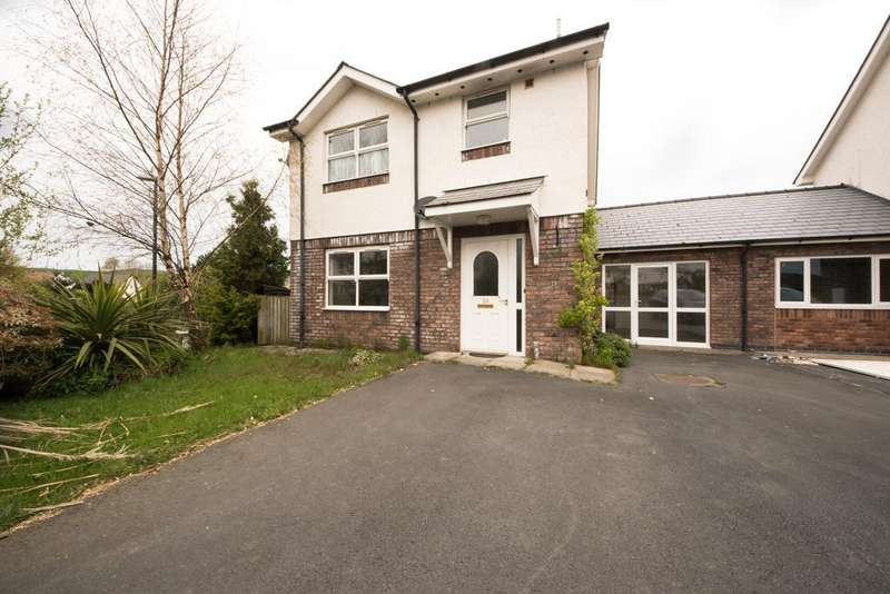4 Bedrooms Link Detached House for sale in Rhydyfelin Aberystywth