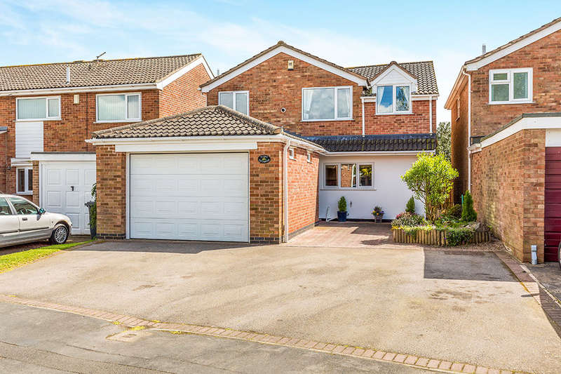 5 Bedrooms Detached House for sale in Warwick Close, Desford, Leicester, LE9