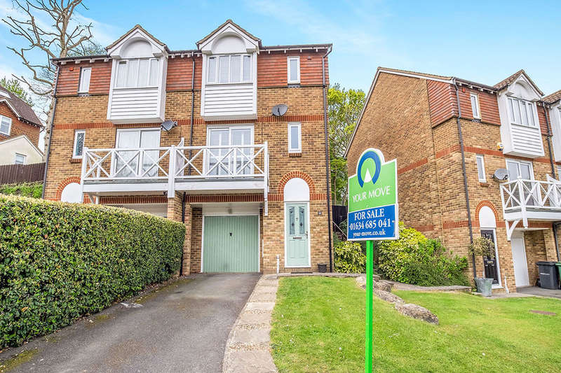 3 Bedrooms Semi Detached House for sale in Round Wood Close, Walderslade Woods, Chatham, ME5