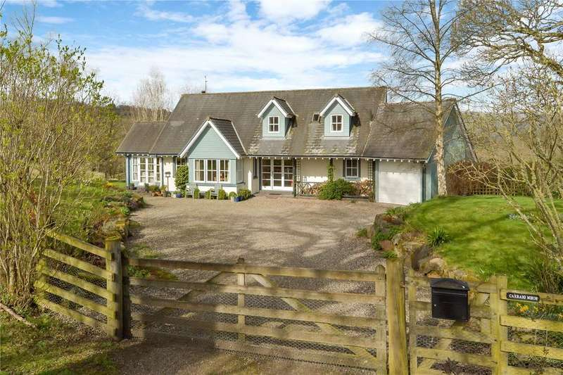 4 Bedrooms Detached House for sale in Carraig Mhor, Craigie, Clunie, Blairgowrie, PH10