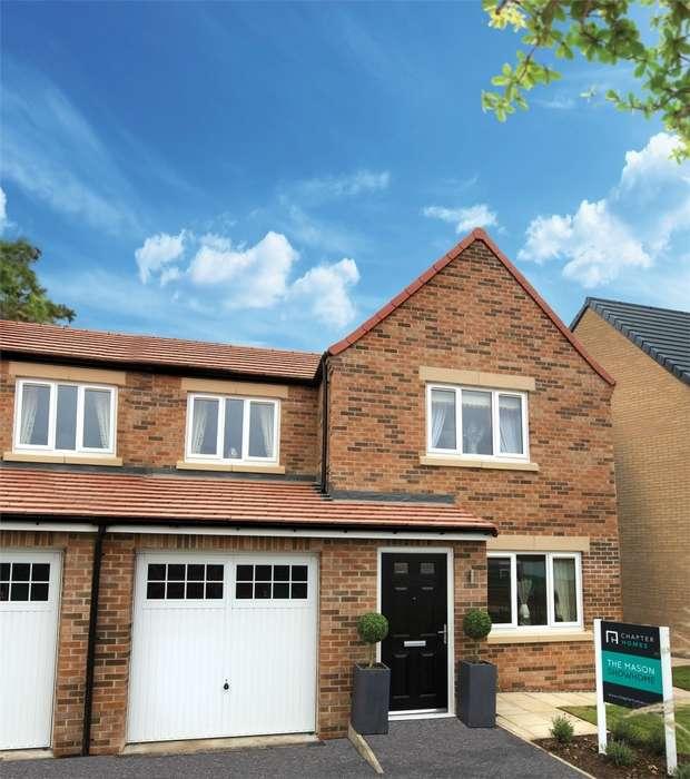 3 Bedrooms Semi Detached House for sale in *PLOT 43 MASON 3 BED SEMI-DETACHED*, Eden Field, Newton Aycliffe, Durham